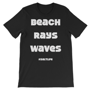 Beach Rays Waves Slogan t-shirt