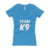 Team K9 Slogan t-shirt women's - Lots of shirt colors