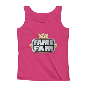 Fame Fam Logo Ladies' Tank