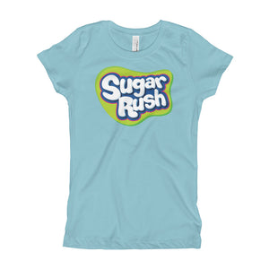 Sugar Rush Girl's T-Shirt Slim Fit 2 - 7 years. - POD