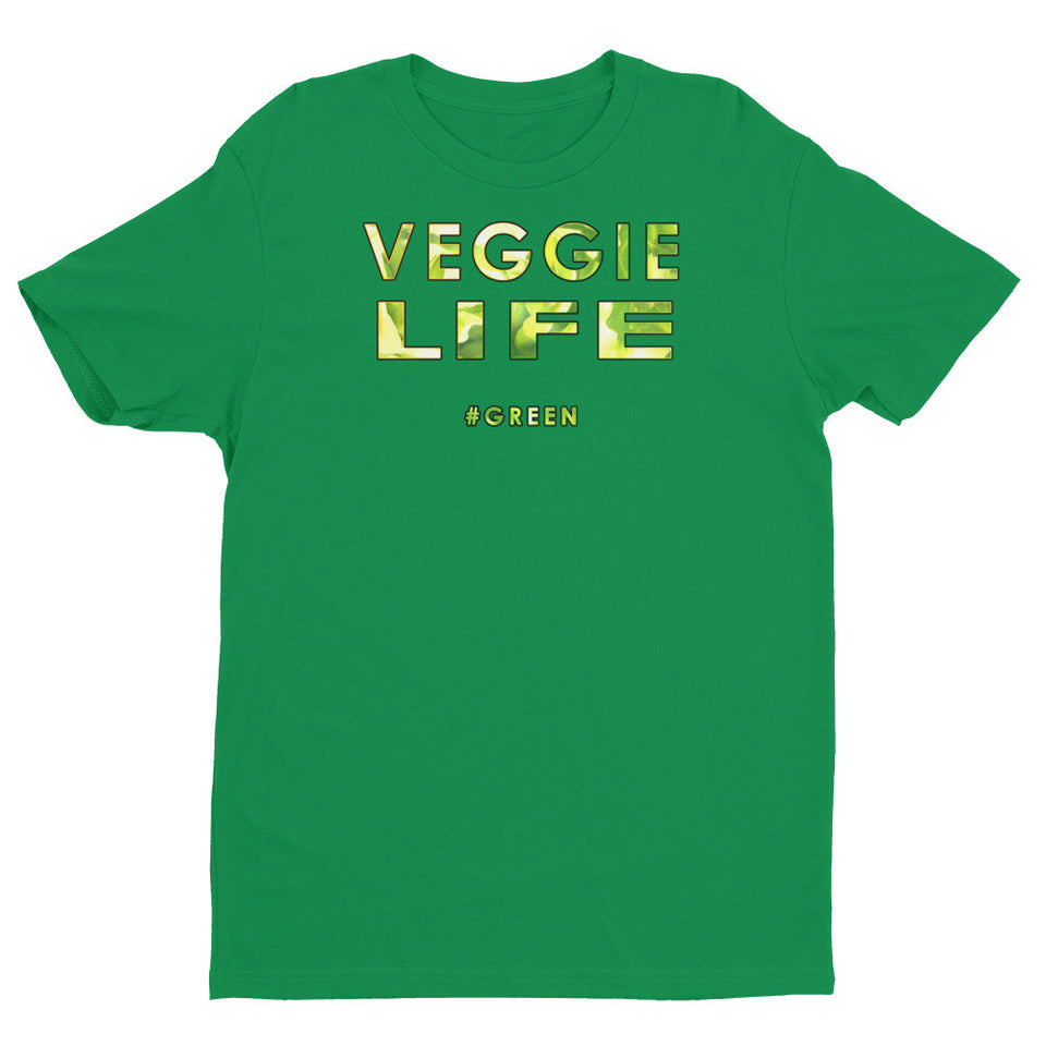 Veggie Life men's slogan t-shirt
