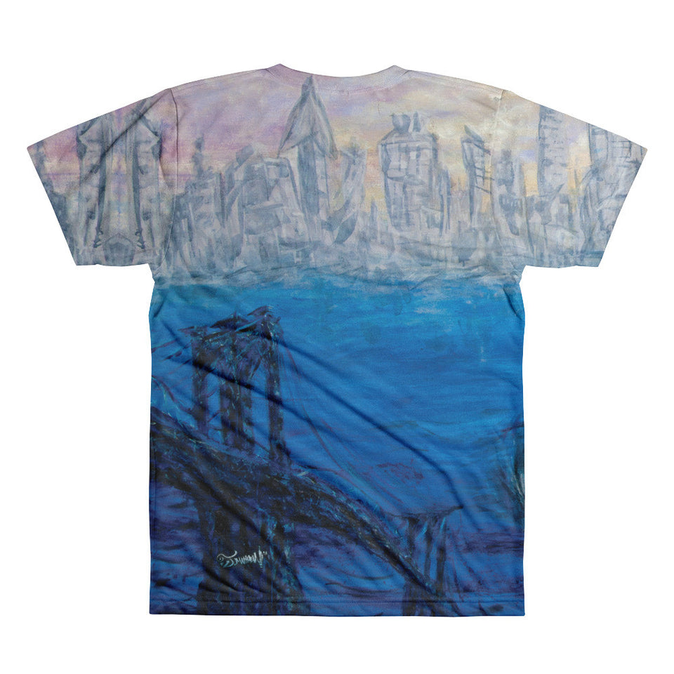New York NYC T-shirt Men's All Over