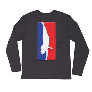 Hip Hop Elements Long Sleeve Fitted Crew