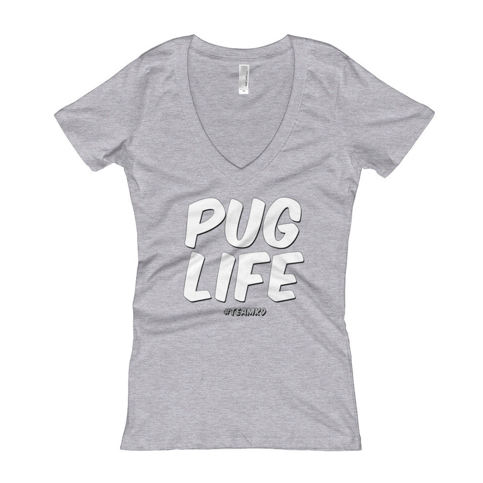 Pug Life Shirt for Women Team K9