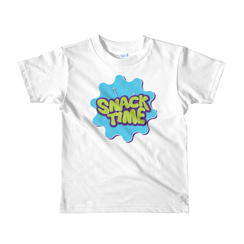 Snack Time Kids Logo Shirt 2 - 6 Years Unisex