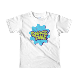Snack Time Kids Logo Shirt 2 - 6 Years Unisex - POD
