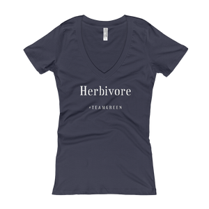 Herbivore Women's Slogan V-Neck T-shirt