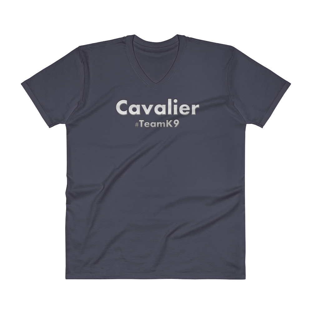 Cavalier Team K9 V-Neck Slogan T-Shirt