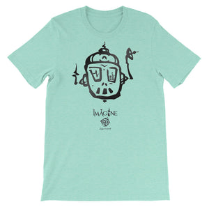 Robot Gadget Ear Graphic T Shirt