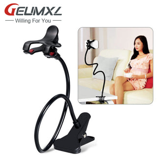 Mobile Phone Holder Smartphone Desk Accessory 360 Degree Rotating with clip support. Very Strong!