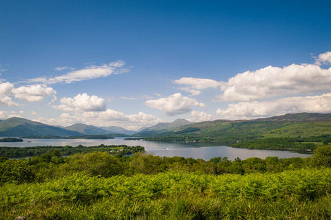 Loch Lomond Scenic Canvas Wraps
