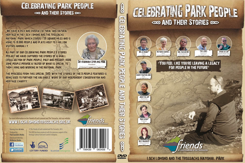 Celebrating Park People & Their Stories DVD