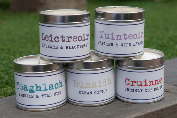 Loch Lomond Candle Tins