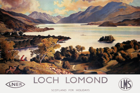 Loch Lomond Classic Rail Prints