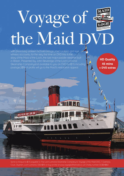 The Maid of The Loch DVD