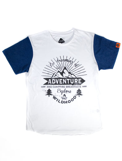 Free-to-Explore Two-tone Tee