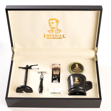 IFM Shaving Set Imperial Black