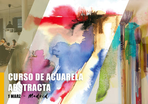 Curso Acuarela Abstracta - 22 Jun