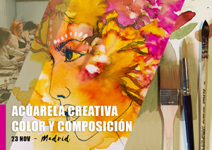 Curso de Acuarela: color y composición - 28 Sep
