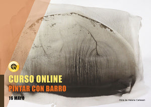 Pintar con barro ONLINE - 16 May