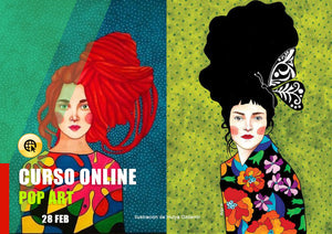 Pop art en acuarela ONLINE - 28 Feb