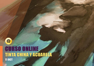 Técnica mixta: tinta china y acuarela ONLINE - 11 Oct
