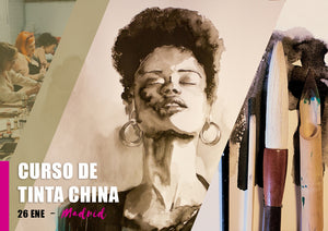 Curso de Tinta China - 25 Nov