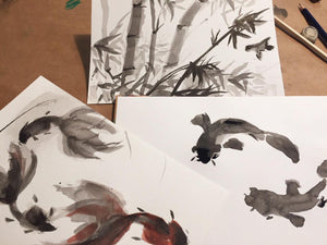 Curso de Tinta China (7 y 8 Julio)