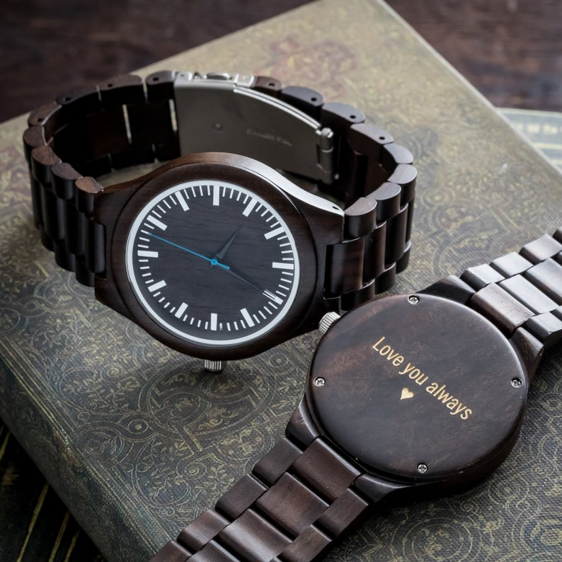 Wooden Watch Valentine's Day Gift