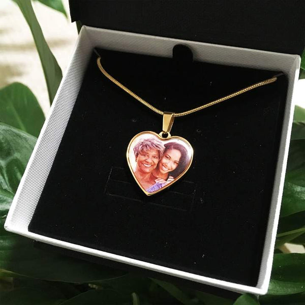 Personalized memorial necklace