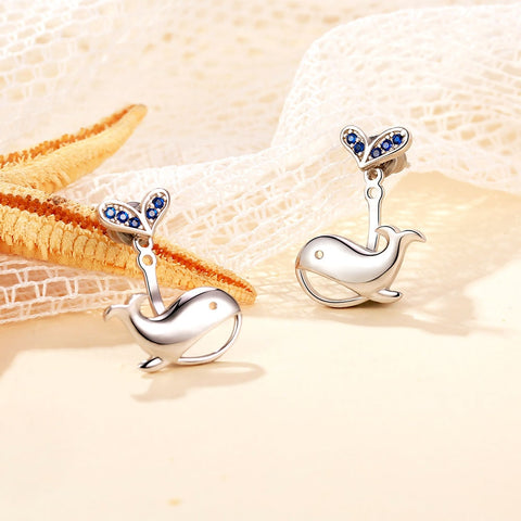 Image of Whale Earrings