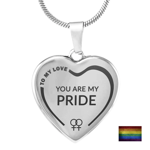 TO MY LOVE <br/> 'You Are My Pride' Necklace