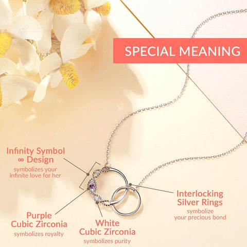 Image of 'Our Precious Bond' <br/> Sterling Silver Necklace