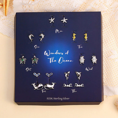 Image of 'Wonders of The Ocean' Earrings Set