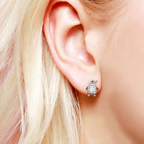 Image of Penguin Earrings