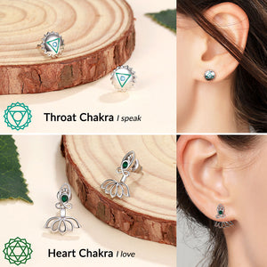 'Wonders of The 7 Chakras' Earrings Set