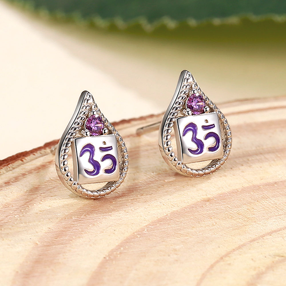 (I Know) Crown Chakra Earrings