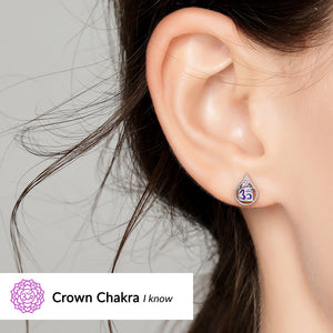 Crown Chakra Earrings <br/> (I Know)