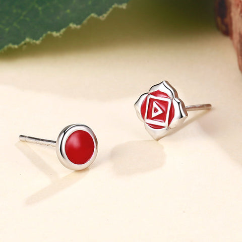 Root Chakra Earrings <br/> (I Am)