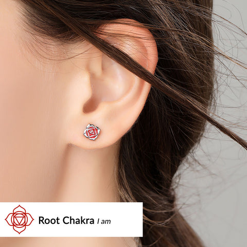 Image of Root Chakra Earrings <br/> (I Am)