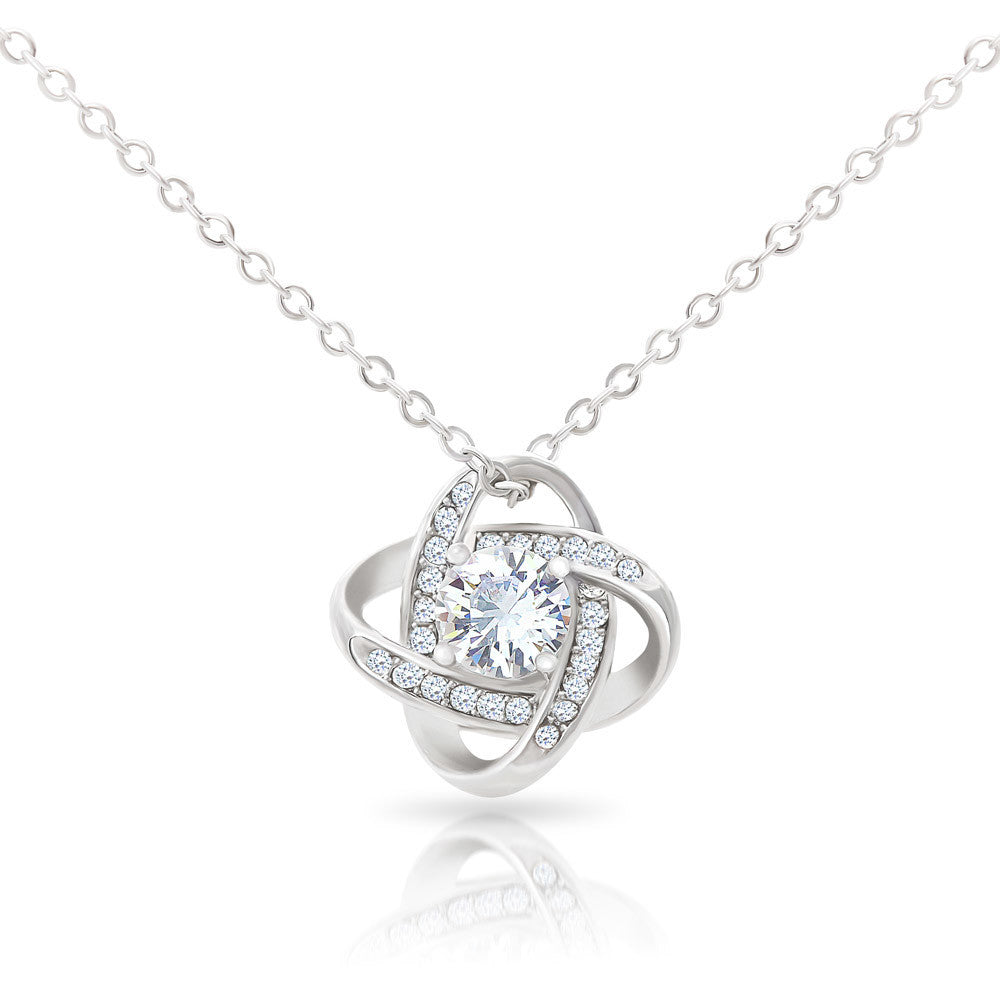 TO MY FUTURE WIFE - 'My Promise' Love Knot Necklace