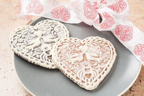 Victorian Lacy Heart