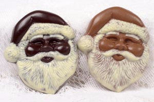 Snowflake Chocolates - Santa Face Dark Chocolate