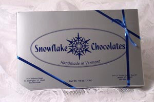 Snowflake Chocolates - Molasses Chip Dark Chocolate 1 lb box
