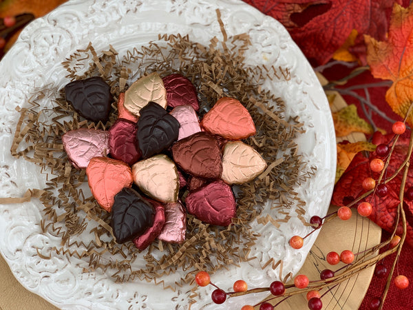 Fall Solid Chocolate Foils