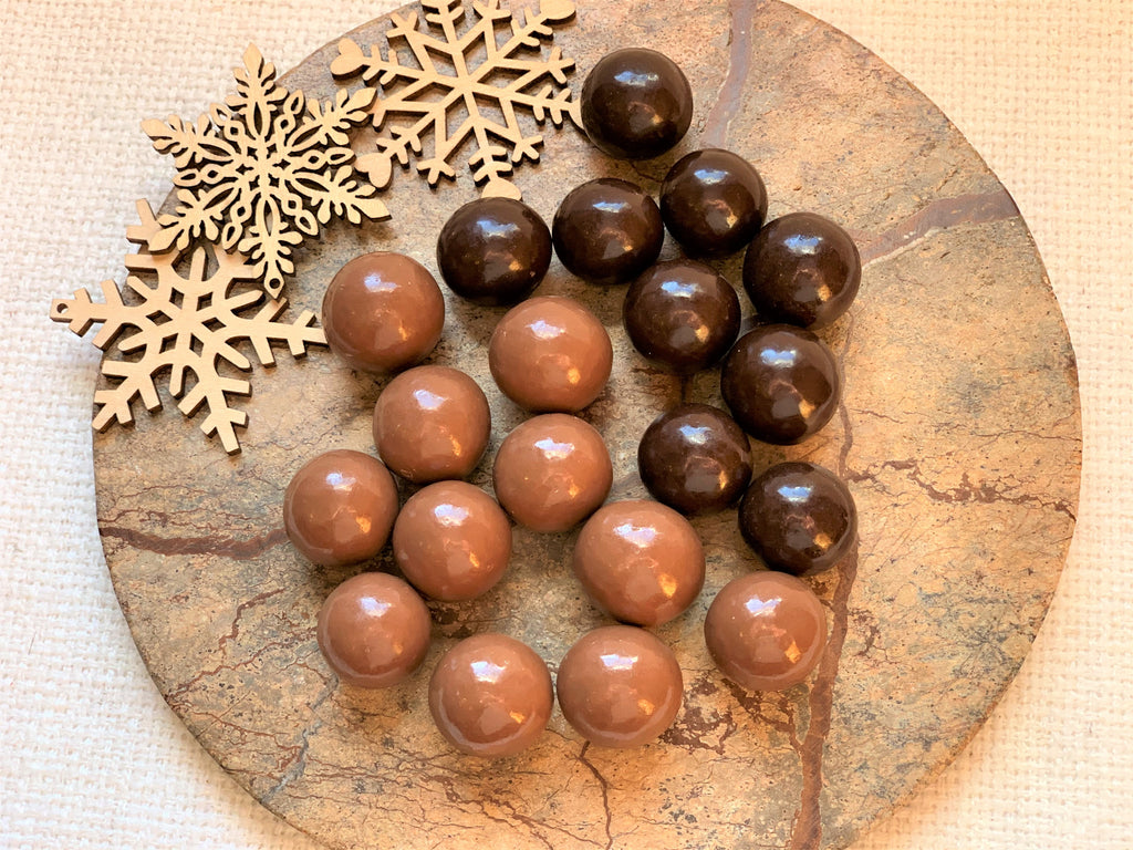 Chocolate Covered Malt Balls