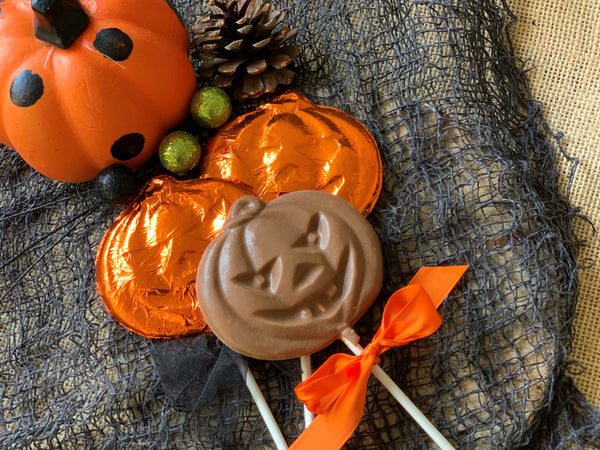 """Jack"" the Pumpkin Pop"