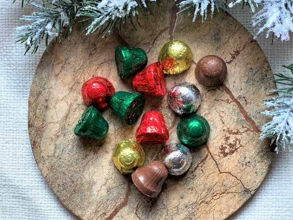 Mini Foil Bells (Milk Chocolate or Dark Chocolate)