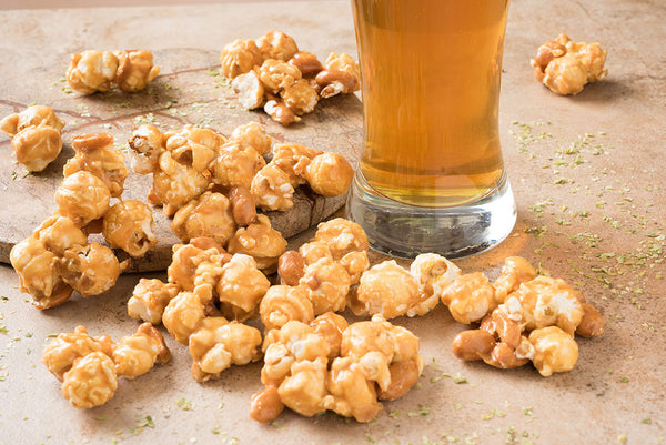 Microbrew Hoppy Pop Caramel Corn