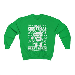 Trump Make Christmas Great Again Ugly Sweater - Trumpshop.net